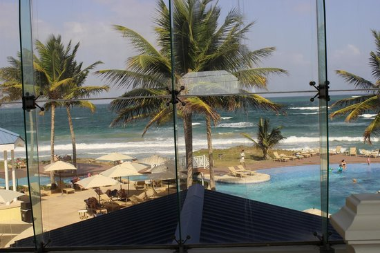 Magdalena Grand Beach & Golf Resort : View from the Lobby