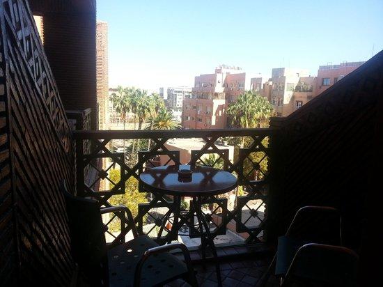 Hotel Almas : terracilla de la habitación