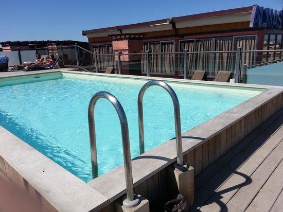Hotel Almas : piscina