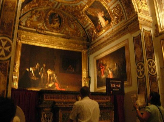 Concatedral de San Juan: Capolavoro del Caravaggio
