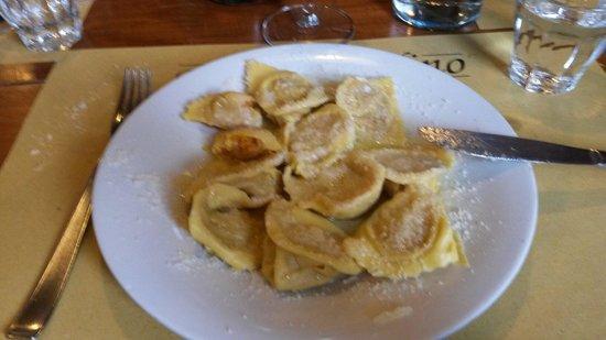 Osteria Da Bortolino: Tortelli alla zucca