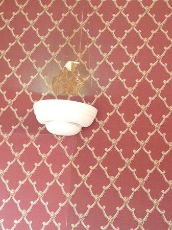 Regency House Hotel: Wall Light