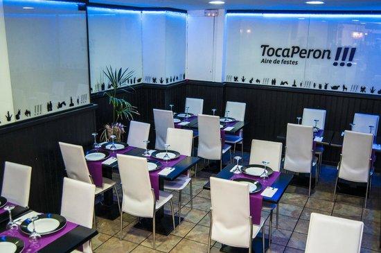 Restaurant Toca Peron: Salon Comedor