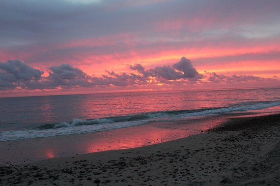 Cabo Pulmo Casas: sunrise on the beach