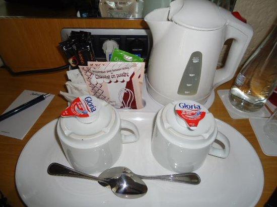 Radisson Blu Hotel, Nice: Free Coffee, chocolate and Milk