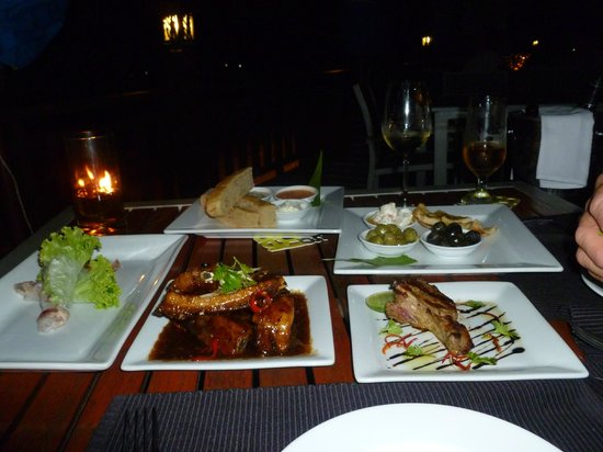Sokha Beach Resort: Tapas at the Lemongrass