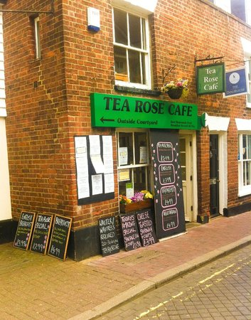 the tea rose cafe colchester restaurant reviews phone number