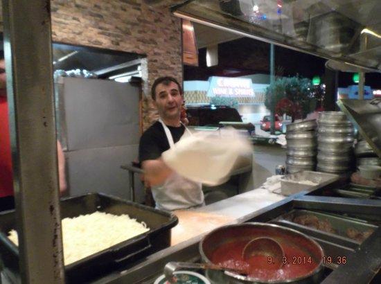 Zuccarelli: fresh baked pizza