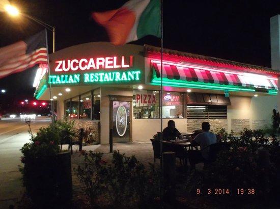 Zuccarelli: outside