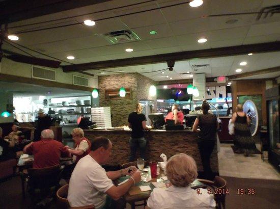 Zuccarelli: inside dinner