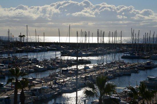 Hotel Atenea Port Barcelona Mataro : view from room