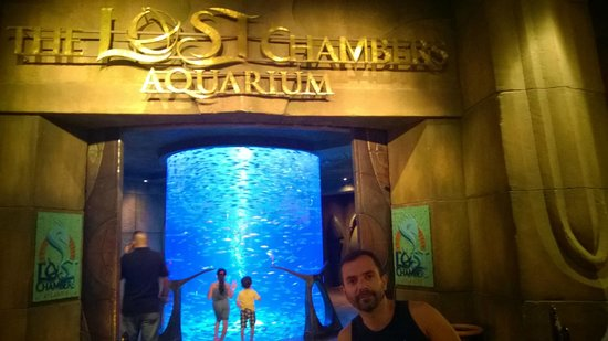 The Lost Chambers Aquarium: entrada