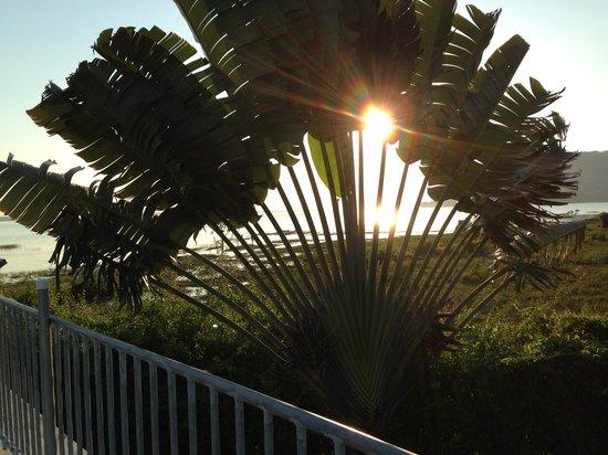 La Casa De Don David: Sunset on Lake Peten