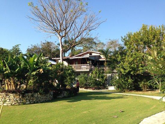 La Casa De Don David: View of grounds and Restaurant