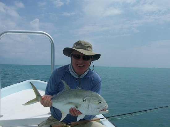 El Pescador Resort : Jack on a fly...