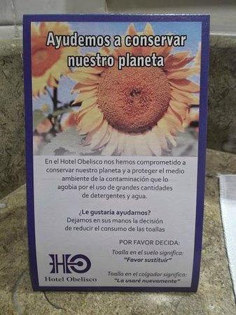 Hotel Obelisco Cali: Compromiso   ambiental