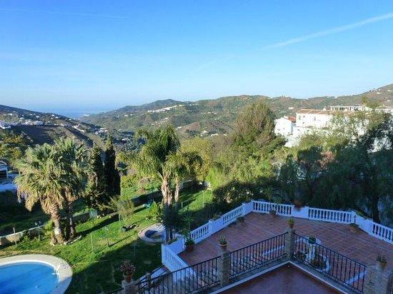 Balcon de Competa Hotel: View from room 108