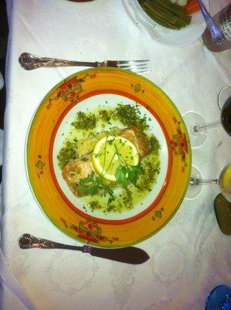 J.J.'s Cafe del Mar: Salmon