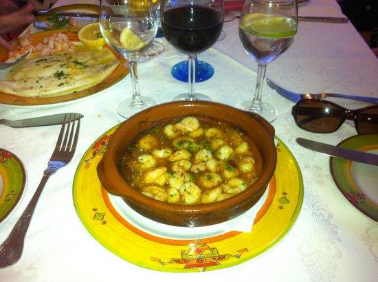 J.J.'s Cafe del Mar: Gambas Pil-Pil