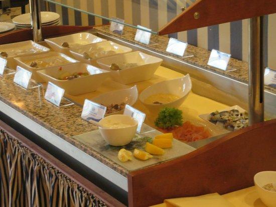 Best Western Seehotel Frankenhorst: Frühstücksbüfett