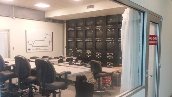 Indianapolis Motor Speedway Museum : Race Control