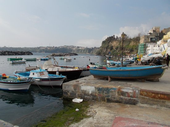 The Port of Corricella: Sulla marina...