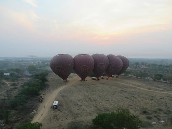 Balloons over Bagan: Lift off
