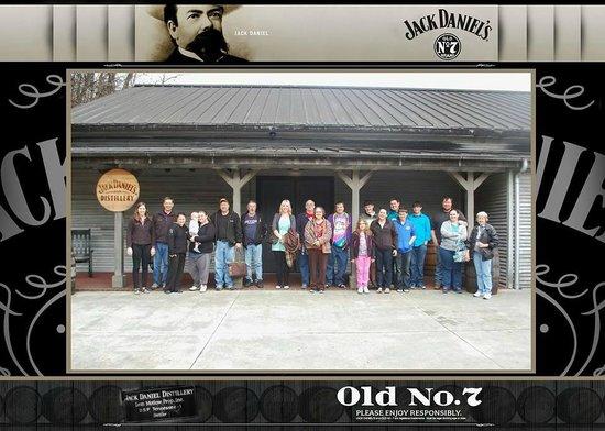 Jack Daniel's Distillery: Tour Group 15