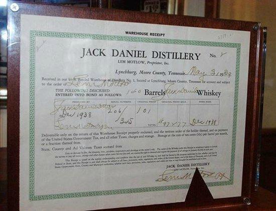 Jack Daniel's Distillery: march 18th 2014