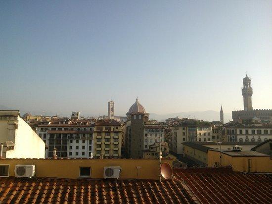 Pitti Palace al Ponte Vecchio: vista da terrazza