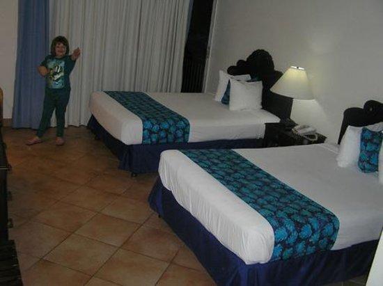 Sunscape Splash Montego Bay : Notre chambre avec 2 lits doubles