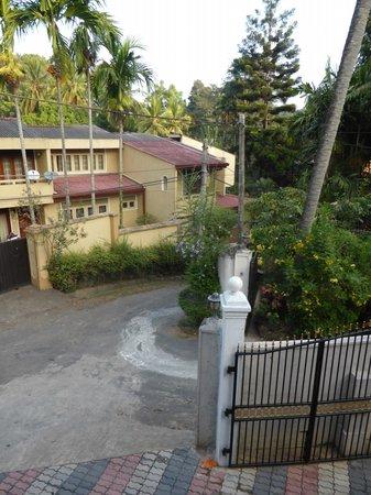 Vino Villa: Aussicht vom Balkon