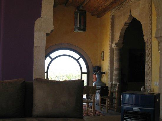 Villa Gonatouki : A comfortable lounge area