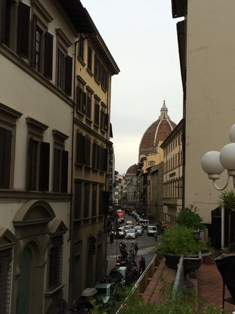 Hotel Balcony: Vista dalla terrazza sul duomo