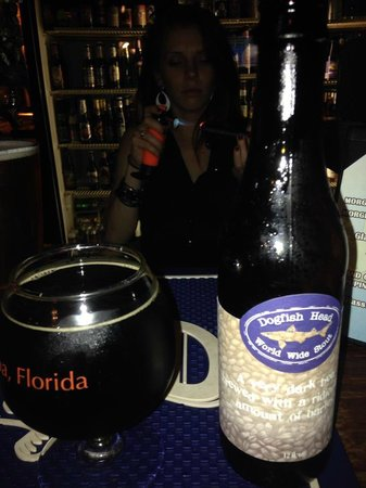 St. Augustine City Walks: Amazing beer selection and free ghost tour cigar @ Stogies