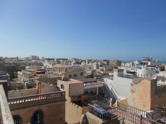 Riad El Mess : Uitzicht vanuit Dakterras