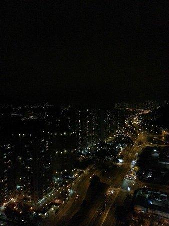Courtyard Hong Kong Sha Tin : view from the room