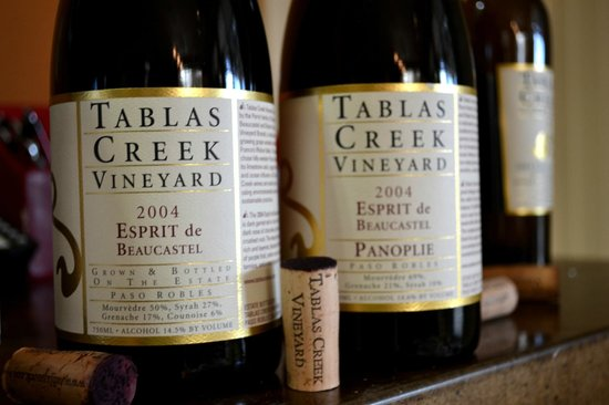 Tablas Creek Vineyard: 2004 Esprit de Beaucastel