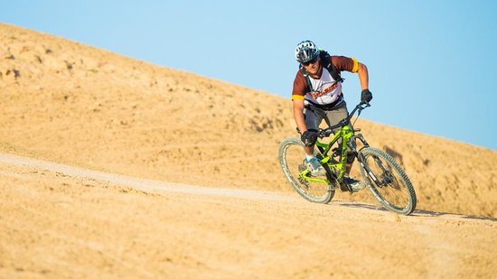 Sababike: Carving a turn in the desert