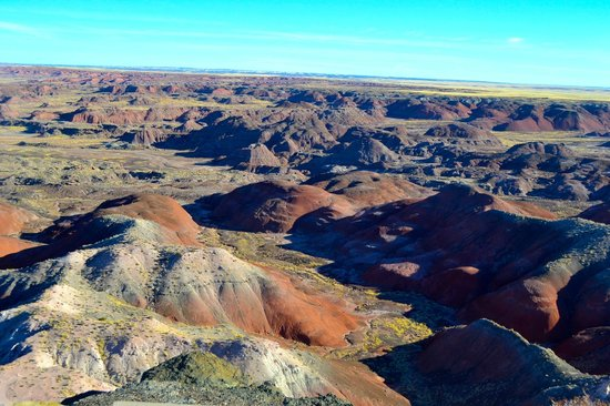 Painted Desert : The colors