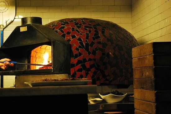 Tony's Pizza Napoletana : coal fire pizza oven at tonys