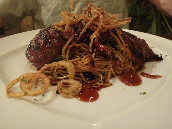 Yemanja Woodfired Grill : Skirt steak, amazing!