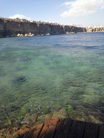Dreams Beach Resort: Lovely warm sea! Dreams Beach :)