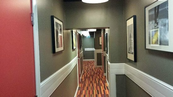 Hotelli Finn: Hall Way to Rooms