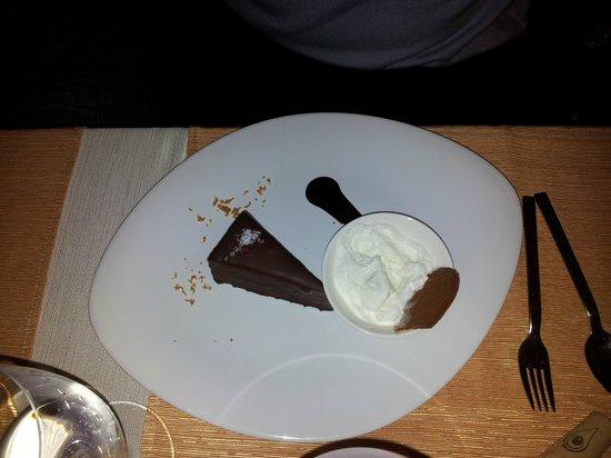 Borssó Bistro: torta al ciocolato