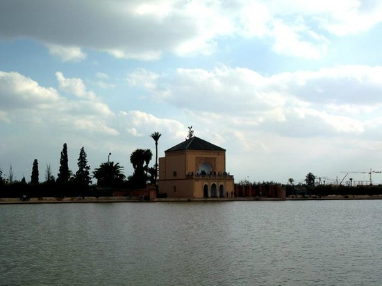 Menara Gardens and Pavilion : Jardines de la Menara
