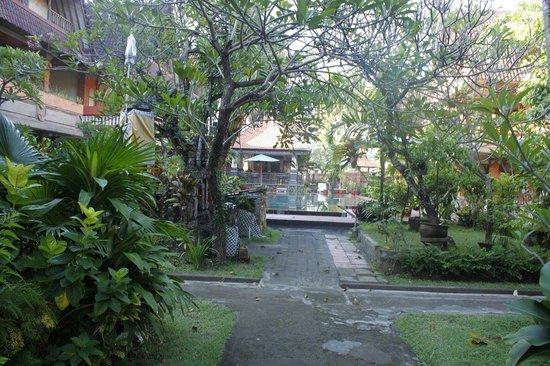 Troppo Zone Puri Rama Resort : Puri rama pool wing path