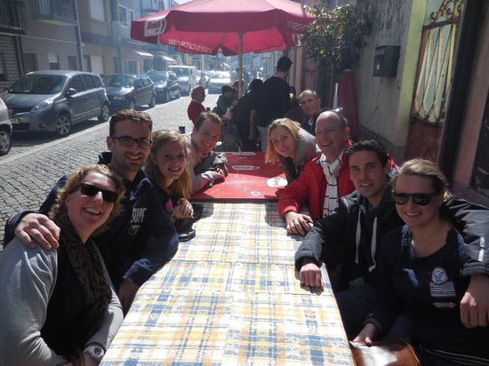 Bluedragon Porto City Tours: Lunch at Fisherman's village