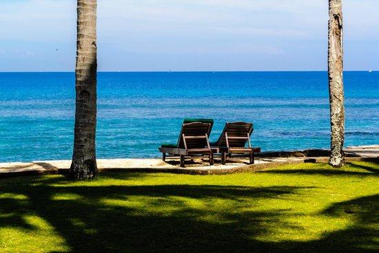 Alang-Alang Boutique Beach Hotel: Mandi Matahari