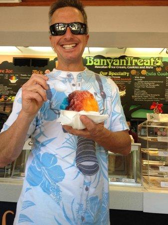 BanyanTreats: Banyan Treats Shave Ice w/vanilla…YES